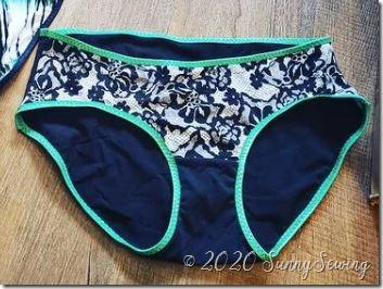 3242 undies black green